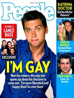 Lance Bass, People Magazine