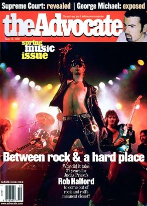 Rob Halford, Judas Priest, The Advocate Magazine