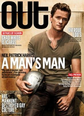 Neil Patrick Harris, Out Magazine
