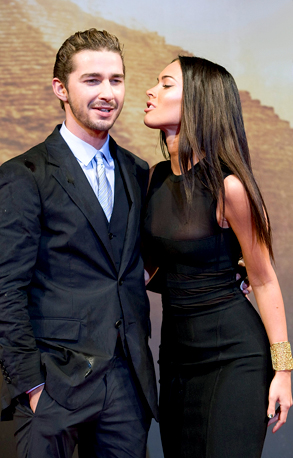 Megan Fox and Shia LaBeouf s Hook-Up New Details