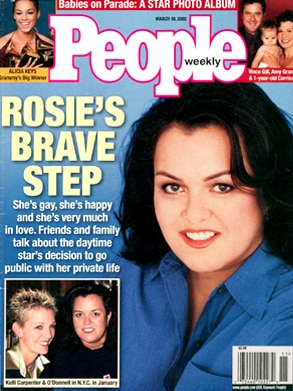Rosie O'Donnell, People Magazine