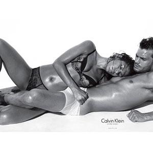 Eva Mendes, Jamie Dornan, CK Ad