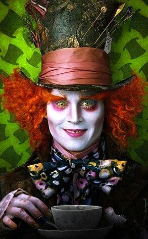 Johnny Depp, Alice in Wonderland