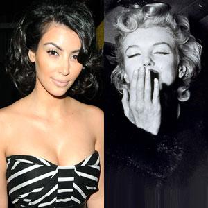 Kim Kardashian, Marilyn Monroe