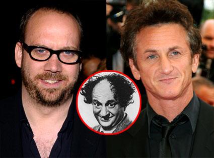 Paul Giamatti, Larry Fine, Sean Penn