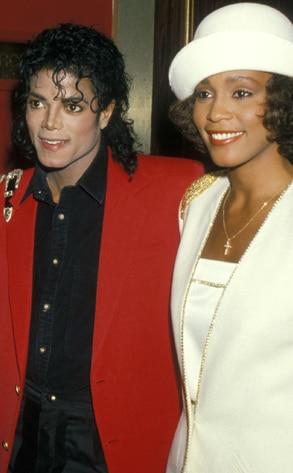Michael Jackson, Whitney Houston
