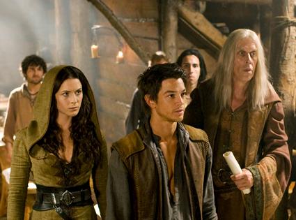 Bruce Spence, Craig Horner, Bridget Regan, Legend of the Seeker