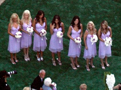 Bridget Marquardt, Holly Madison, Bridesmaids