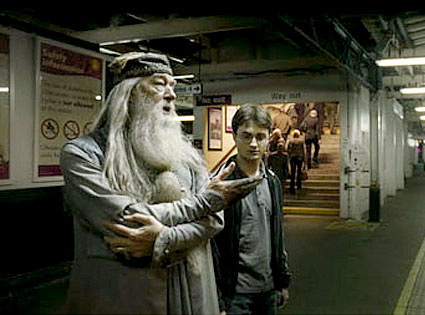 Michael Gambon, Daniel Radcliffe, Harry Potter and the Half-Blooded Prince