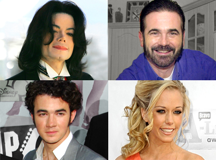 Michael Jackson, Billy Mays, Kevin Jonas, Kendra Wilkinson