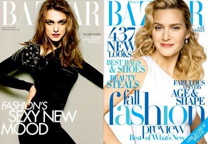 Rachel Weisz, Harper's Bazaar, UK Cover, Kate Winslet, Harper's Bazaar, Cover