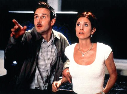 David Arquette, Courteney Cox, Scream