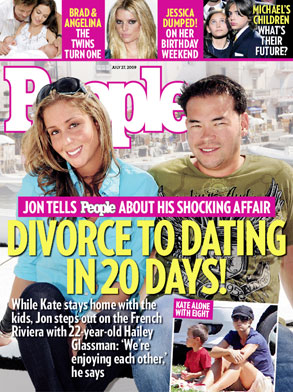 Jon Gosselin, Hailey Glassman, People