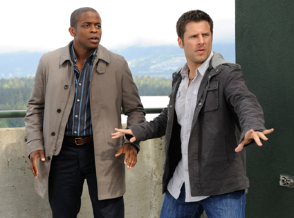 James Roday, Dule Hill, Psych