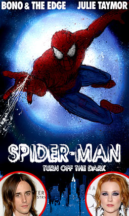Spiderman Poster, Reeve Carney, Evan Rachel Wood