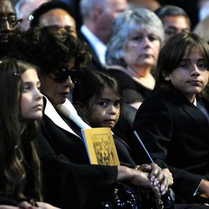 Paris Katherine Jackson, Katherine Jackson, Prince Michael Jackson II, Prince Michael Jackson