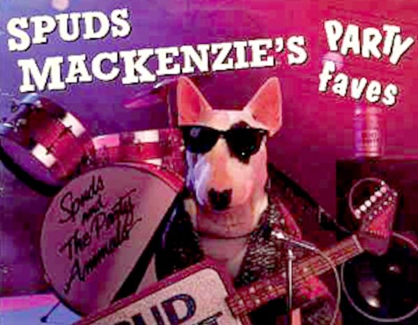 spuds mackenzie from favorite fallen friends e news