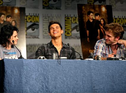 Kristen Stewart, Taylor Lautner, Robert Pattinson