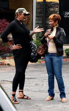 NeNe Leakes, Kandi Burruss, Real Housewvies of Atlanta