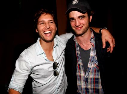 Peter Facinelli, Robert Pattinson