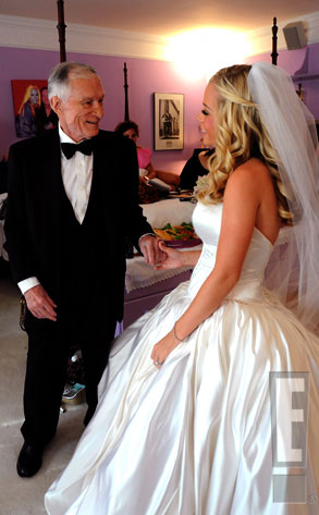 One For the Wedding Album from Hugh Hefner\'s Gorgeous Girls | E! News