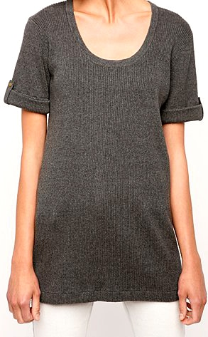 S Loves C by Spring and Clifton Roll Tab Sweater Tunic