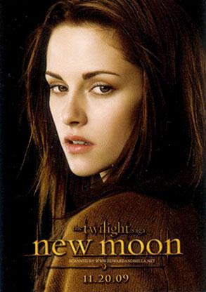 Kristen Stewart, New Moon Poster