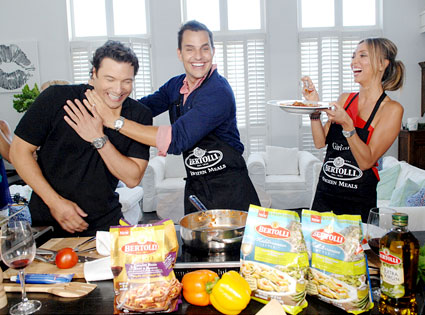 Bill Rancic, Giuliana Rancic, Rocco DiSpirito