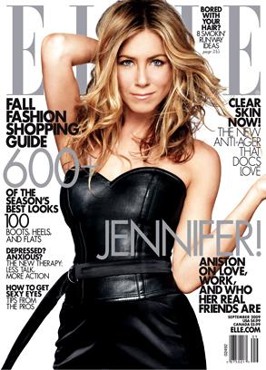 Jennifer Aniston, Elle Magazine (cover)