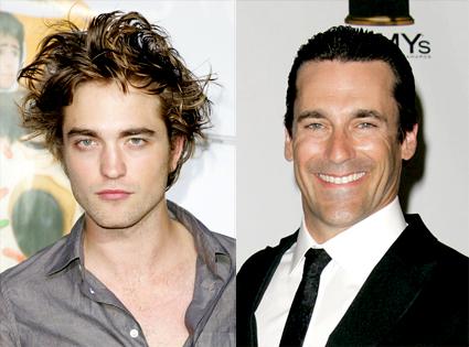Robert Pattinson, Jon Hamm