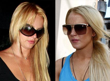 Britney Spears, Lindsay Lohan