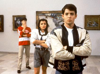 Alan Ruck, Mia Sara, Matthew Broderick, Ferris Bueller's Day Off