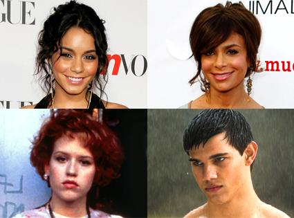 Vanessa Hudgens, Paula Abdul, Molly Ringwald, Pretty in Pink, Taylor Lautner, New Moon