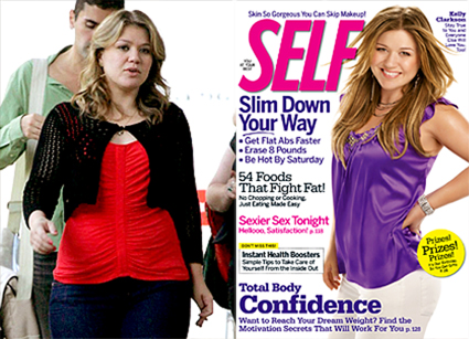 Kelly Clarkson, Self Magazine, Cover