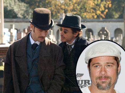 Jude Law, Robert Downey Jr., Sherlock Holmes, Brad Pitt