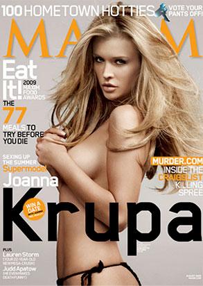 Joanna Krupa, Maxim, Cover