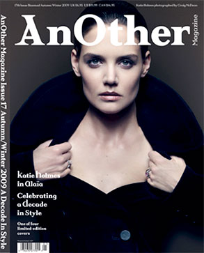 Katie Holmes, AnOther Magazine, Cover