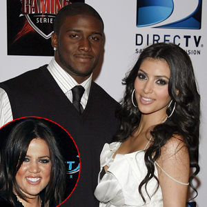 Reggie Bush, Kim Kardashian, Khloe Kardashian Odom