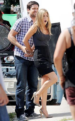 Jennifer Aniston, Gerard Butler