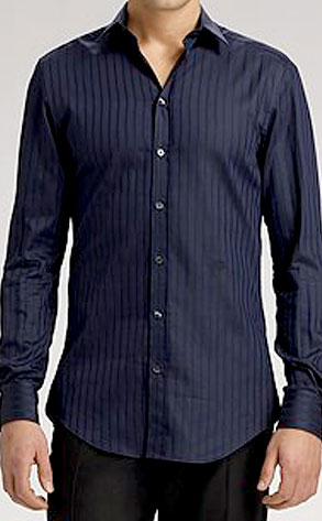 D and G's Striped Sateen Sportshirt