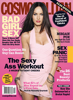 Megan Fox, Cosmpolitan, Cover