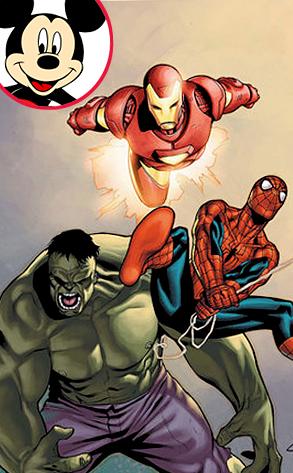 Marvel Comics, Spiderman, Hulk, Iron Man, Mickey Mouse