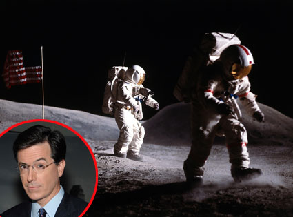Stephen Colbert, Moon Walk