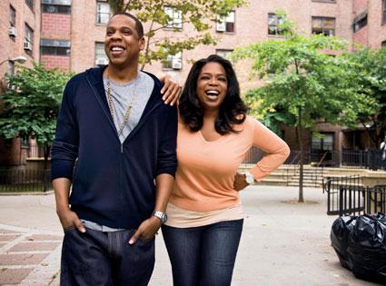 O Magazine, Oprah, Jay Z