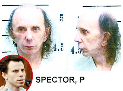 Phil Spector, Mug Shot, Erik Menendez