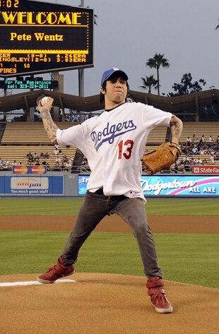 Pete Wentz, Dodgers Game