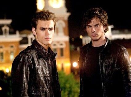 Paul Wesley, Ian Somerhalder, Vampire Diaries