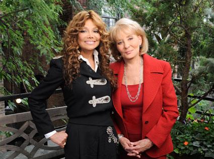 La Toya Jackson, Barbara Walters