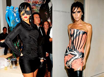Rihanna, Victoria Beckam