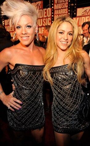 Pink, Shakira